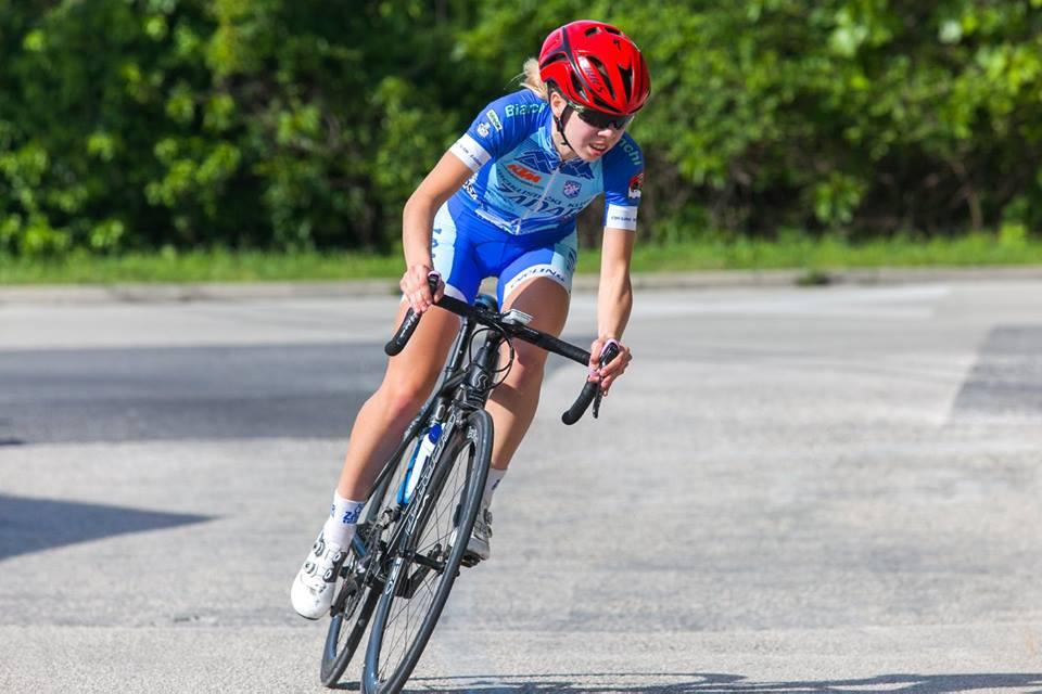 Maja Perinović, najbolja hrvatska biciklistica na biciklu